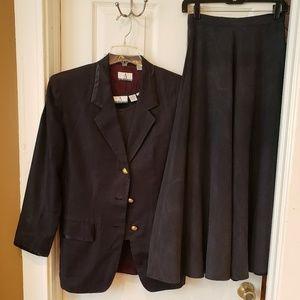Anne Klein A Line Vintage 3 piece suit